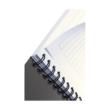 Spirálfüzet LEITZ Office A/5 karton borítóval 90 lapos vonalas zöld