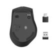 Egér vezeték nélküli HAMA MW-600 2,4 GHz + USB-C 2400 DPI fekete