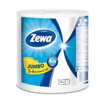 Kéztörlő tekercses háztartási ZEWA Jumbo White 2 rétegű 1 tekercses 325 lap