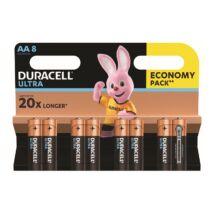 Elem ceruza DURACELL Ultra MX1500 AA 8-as