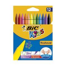 Zsírkréta BIC KIDS PlastiDecor 12db-os készlet
