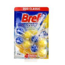 Toalett illatosító golyó BREF Power Aktiv kosaras 2x50g Lemon