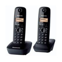 Telefon dect PANASONIC KXGT1612HGH vezeték nélküli fekete