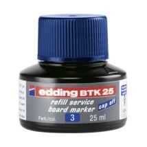 Tinta EDDING BTK25 táblamarkerhez 25 ml kék