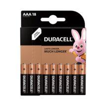 Elem mikro DURACELL Basic MX2400 AAA 18-as