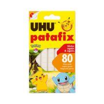 Gyurmaragasztó UHU Patafix fehér pokémon 80 kocka/csomag