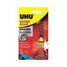 Pillanatragasztó UHU Super Glue Jumbo 3 gr
