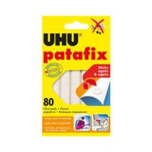Gyurmaragasztó UHU Patafix fehér 80 kocka/csomag