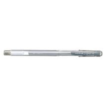 Zselés toll UNI UM-100 0.7 mm ezüst