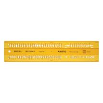 Betűsablon ARISTO isonorm 3,5 mm