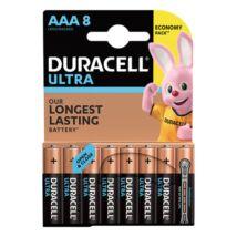 Elem mikro DURACELL Ultra MX2400 AAA 8-as