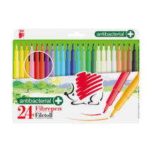 Filctoll ICO Rainbow antibakteriális 24-as klt