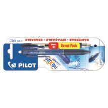 Rollertoll PILOT Frixion Clicker nyomógombos radírozható 0,25 mm tintakék + ajándék G-2 kék zselés toll