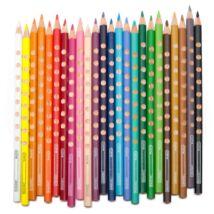 Színes ceruza LYRA Groove Slim háromszögletű vékony sötétkék