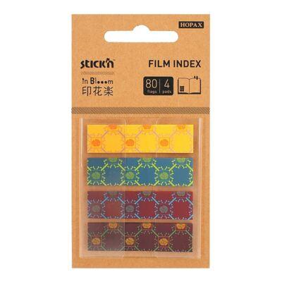Öntapadó oldaljelölő STICK`N In Blooom 45x12mm műanyag mix 4x20 lap