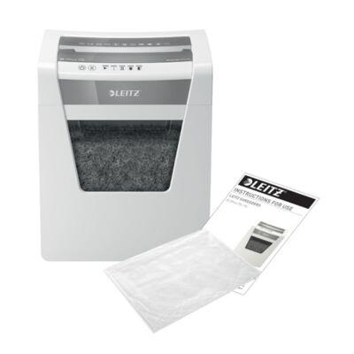 Iratmegsemmisítő LEITZ IQ Office mikrokonfetti P5 10 lap fehér