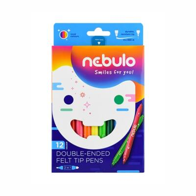 Filctoll NEBULO kétvégű 12db-os készlet