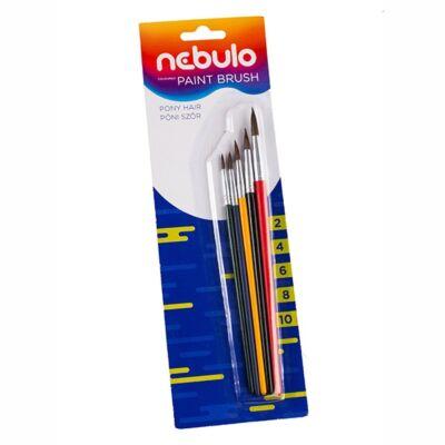 Ecset NEBULO festett fanyelű 5-ös készlet (2,4,6,8,10)