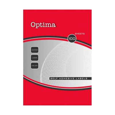Etikett OPTIMA 32081 52,5x29,7mm 4000 címke/doboz 100 ív/doboz