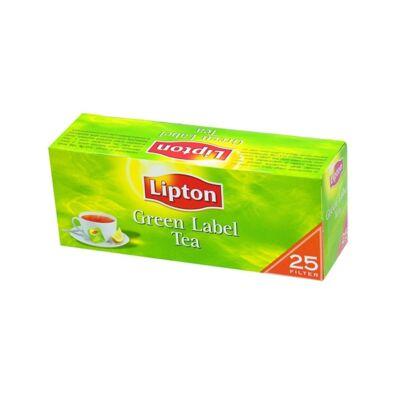 Fekete tea LIPTON Green Label 25x1,5g