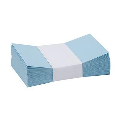 Névjegyboríték színes KASKAD enyvezett 70x105mm 75 kék 50 db/csomag