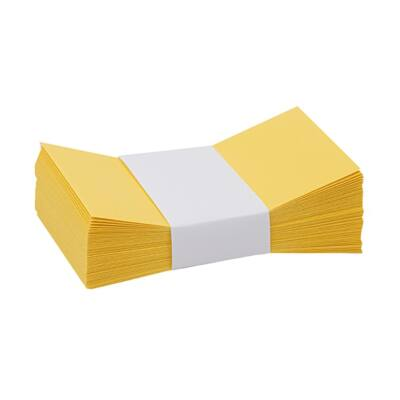 Névjegyboríték színes KASKAD enyvezett 70x105mm 57 citromsárga 50 db/csomag