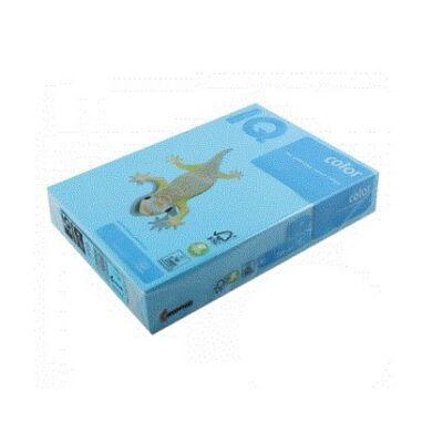 Fénymásolópapír színes IQ Color A/4 160 gr intenzív azúrkék  AB48 250 ív/csomag