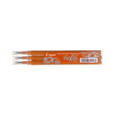 Tollbetét roller PILOT Frixion Clicker/Ball radírozható 0,35 mm narancssárga 3 db/csomag