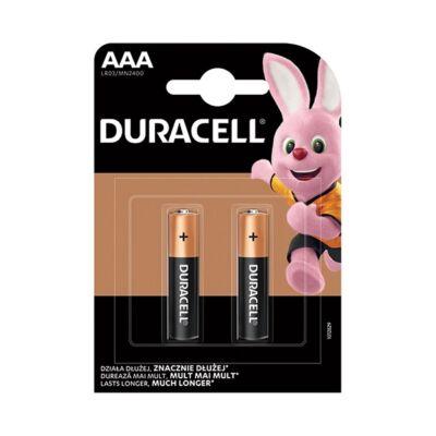 Elem mikro DURACELL Basic MN2400 AAA 2-es