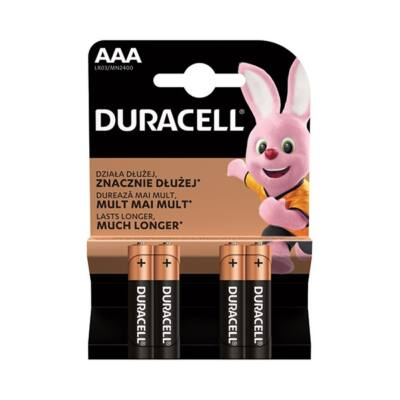 Elem mikro DURACELL Basic MN2400 AAA 4-es