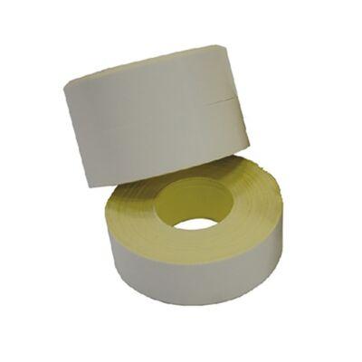 Árazószalag FORTUNA folyamatos fehér 10 tekercs/csomag
