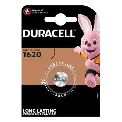 Elem gomb DURACELL DL1620 1-es