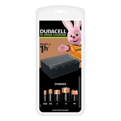 Akkumulátor töltő DURACELL CEF22 4xAAA/AA/C/D/9V
