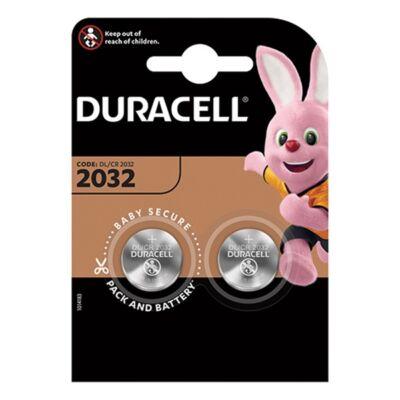 Elem gomb DURACELL DL2032 3V 2-es