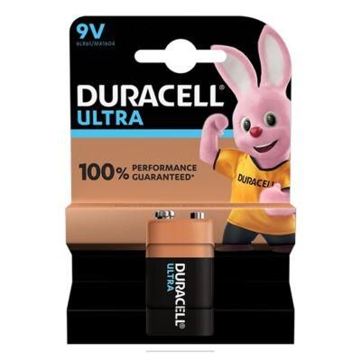 Elem DURACELL Ultra M3 MX1604 9V 1-es
