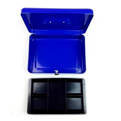 Pénzkazetta EAGLE 8878M érmetartós kék