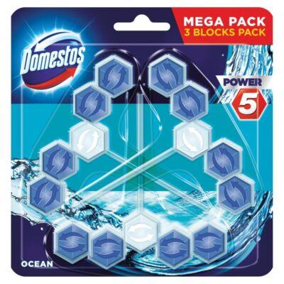 Toalett öblítő DOMESTOS Power5 Ocean Mega Pack 3x55 g