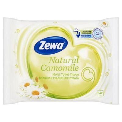 Nedves toalettpapír ZEWA 42db-os Nature Camomile