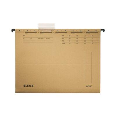 Függőmappa LEITZ Alpha Standard A/4 karton natúr 25 db/doboz